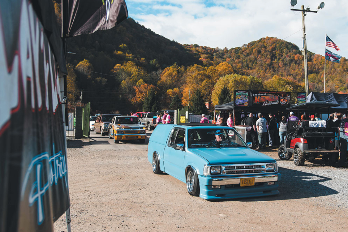 Lowriders Cruise the Mountains at Mini Truckin Nationals 2020